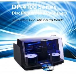 Disc Publisher 4100 Autoprinter - Stampa CD e DVD - 2x50 CD/DVD