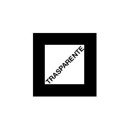 Foil TRASPARENTE Lucido per sovrastampa su Toner