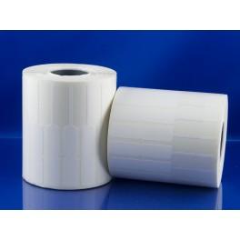Etichette Gioielli 74 x 10 mm. Spadino con zona non adesiva