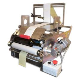 Etichettatrice semiautomatica per prodotti tondi e quadri