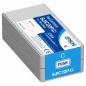Cartuccia CIANO pigmentato per stampante etichette Epson C3500