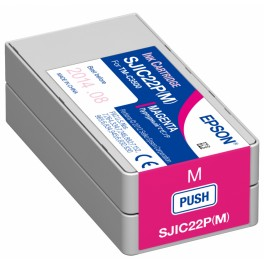Cartuccia MAGENTA pigmentato per stampante etichette Epson C3500